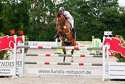 10, Youngster-Springen Kl. S* mit Stechen,, Ehlersdorf, Reitanlage Jörg Naeve, 15. - 18.07.2021, Thomas Voss (GER), Teulonia 3,