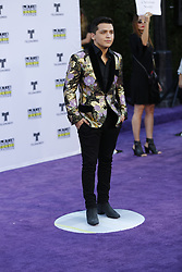 HOLLYWOOD, CA - OCTOBER 26: Christian Nodal attends the Telemundo's Latin American Music Awards 2017 held at Dolby Theatre on October 26, 2017. Byline, credit, TV usage, web usage or linkback must read SILVEXPHOTO.COM. Failure to byline correctly will incur double the agreed fee. Tel: +1 714 504 6870.