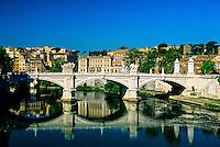 Ponte Vitt. Emanuele (bridge), Rome, Italy
