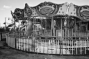 The Mardi Gras Menagerie Carousel ride at Six Flags in East New Orleans - five years later after Hurricane Katrina.