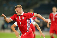 ATHENS, GREECE - OCTOBER 11: Oleg Reabciukof Moldova<br />  during the UEFA Nations League group stage match between Greece and Moldova at OACA Spyros Louis on October 11, 2020 in Athens, Greece. (Photo by MB Media)