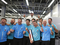 April 29, 2018 - Baku, Azerbaijan - Motorsports: World Championship; 2018; Grand Prix Azerbaijan, Grand Prix of Europe, Formula 1 2018 Azerbaijan Grand Prix, .#44 Lewis Hamilton (GBR, Mercedes AMG Petronas F1 Team) (Credit Image: © Hoch Zwei via ZUMA Wire)