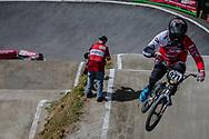 #921 (HARMSEN Joris) NED during round 4 of the 2017 UCI BMX  Supercross World Cup in Zolder, Belgium.