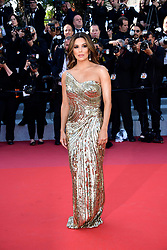 Eva Longoria attending the Rocketman premiere, held at the 72nd Cannes Film Festival on May 16, 2019.