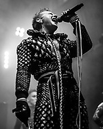 Klemens Hannigan of Icelandic techno and industrial band Hatari at Iceland Airwaves