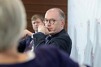 """08 JUN 2021, BERLIN/GERMANY:<br /> Nils Annen, MdB, SPD, Staatsminister beim Bundesminister des Auswaertigen, Wirtschaftskonferenz, Wirtschaftsforum der SPD """"Post-Coronomics - Transformation, Wachstum, Beschäftigung"""", Axica Kongresszentrum<br /> IMAGE: 20210608-01-174"""