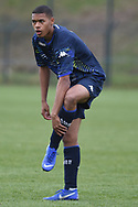 Leeds United defender Mason Rubie during the U18 Professional Development League match between Coventry City and Leeds United at Alan Higgins Centre, Coventry, United Kingdom on 13 April 2019.