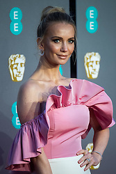 Tatiana Korsakova attending 72nd British Academy Film Awards, Arrivals, Royal Albert Hall, London. 10th February 2019