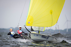 The Allianz Regatta is the first event of the 2021 Hempel World Cup Series. Hosted in Medemblik, The Netherlands, 350 sailors will race across eight Olympic classes across two weeks of competition. 11 June, 2021 © Sander van der Borch / Allianz Regatta
