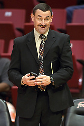 29 December 2014:  Mike Kindhart during an NCAA non-conference interdivisional exhibition game between the Quincy University Hawks and the Illinois State University Redbirds at Redbird Arena in Normal Illinois.