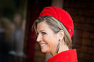 Queen Máxima is Tuesday February 3 present at the presentation of the 'Central Child'