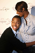 l to r: Terrence J and Toccara at The Jermaine Dupri Birthday Celebrration held at Tenjune in New York City on September 23, 2008