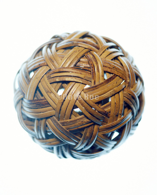 ball made of wooden strips