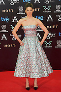 020914 Goya Cinema Awards 2014 - Red Carpet