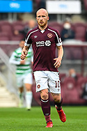 Liam Boyce (#10) of Heart of Midlothian FC during the Cinch SPFL Premiership match between Heart of Midlothian FC and Celtic FC at Tynecastle Park, Edinburgh, Scotland on 31 July 2021.