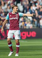Football - 2016 / 2017 Premier League - West Ham United vs. Middesborough <br /> <br /> Mark Noble of West Ham at The London Stadium.<br /> <br /> COLORSPORT/DANIEL BEARHAM