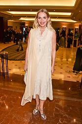 Nikki Bedi at The Asian Awards, The Hilton Park Lane, London England. 5 May 2017.<br /> Photo by Dominic O'Neill/SilverHub 0203 174 1069 sales@silverhubmedia.com