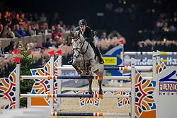 Vandenbossche Bjorn, BEL, Juristo van het Hagenhof<br /> Jumping Mechelen 2019<br /> © Hippo Foto - Dirk Caremans<br />  26/12/2019
