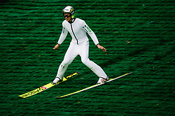 Peter Prevc during practice session of Slovenian national Ski Jumping team on 18 August, 2020, in Kranj, Slovenia.  Photo by Grega Valancic / Sportida