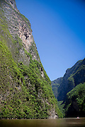Sumidero Canyon on the Grijalva River
