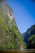Sumidero Canyon on the Grijalva River