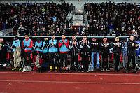 Banc Boulogne - 21.01.2015 - Boulogne / Grenoble - Coupe de France<br />Photo : Philippe le Brech / Icon Sport