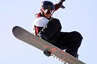 Snowboard, NM halfpipe, Kongsberg Skisenter 24. mars 2001. Daniel Franck.