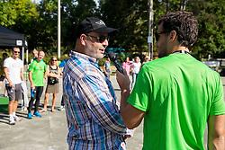Jernej Sugman na Adidas sola teka 2014, Ljubljana, Slovenia. Photo by Vid Ponikvar / Sportida