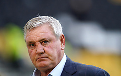 File photo dated 02-10-2021 of Newcastle United manager Steve Bruce is interviewed after the Premier League match at Molineux Stadium, Wolverhampton. Steve Bruce took training on Tuesday amid continuing uncertainty over his future as Newcastle manager. Picture date: Saturday October 2, 2021. Issue date: Tuesday October 12, 2021.