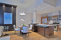 VA architectural interior of apartment at Mid Town Reston by Jeffrey Sauers of Commercial Photographics