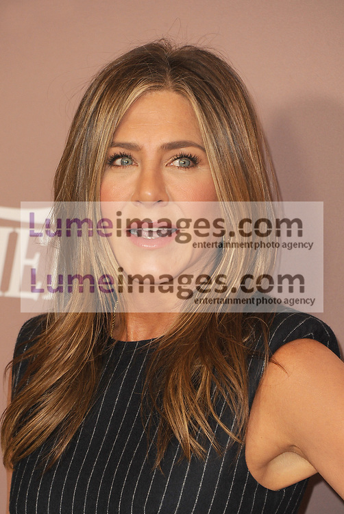 Jennifer Aniston at the Variety's 2019 Power Of Women held at the Beverly Wilshire Four Seasons Hotel in Beverly Hills, USA on October 11, 2019.