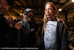 Doug Wothke at Bill Dodge's Blings Cycles industry party during Daytona Bike Week. Daytona Beach, FL. USA. Wednesday March 14, 2018. Photography ©2018 Michael Lichter.