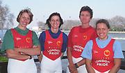 Putney to Mortlake, Thames World Sculling Challenge<br /> Photo Peter Spurrier<br /> Sport - Rowing<br /> Thames World Sculling Challenge<br /> 28/03/2002 <br /> Atheletes weigh - in