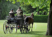 © under license to London News Pictures. LONDON, UK  11/05/2011. The opening day of The Royal Windsor Horse Show in the private grounds of Windsor Castle today (11 May 2011). Photo credit should read Stephen Simpson/LNP.