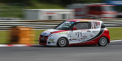 19.05.2013, Salzburgring, Salzburg, AUT, Suzuki Motorsport Cup Rennen 2, im Bild Zsolt Shiller // during the Suzuki Motorsport Cup Austrian Race two, held at the Salburgring near Salzburg, Austria on 2013/05/19. EXPA Pictures © 2013, PhotoCredit: EXPA/ Roland Hackl