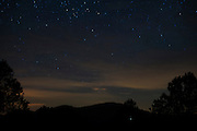 Light pollution on the horizon from oil fields north of McDonald Observatory in Fort Davis, Texas on June 18, 2015. (Cooper Neill for The Texas Tribune)