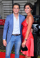 Lewis Bloor and a guest attending a screening of Home Again in London. Picture Date: Thursday 21 September. Photo credit should read: Ian West/PA Wire