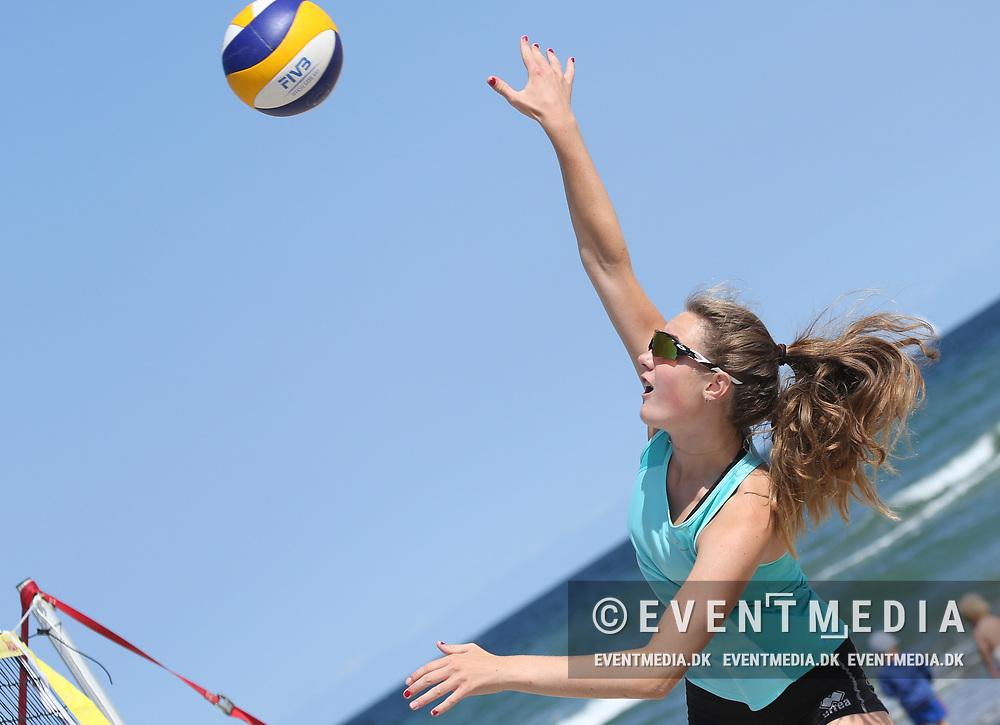 Hornbæk Semifinalestævne på den danske Pepsi Max Beachvolley Tour på Hornbæk Strand, Danmark, 21.07.2018. Photo Credit: Allan Jensen/EVENTMEDIA.