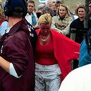 Sterrenslag 1996 op Texel, Hanny nat na wedstrijd