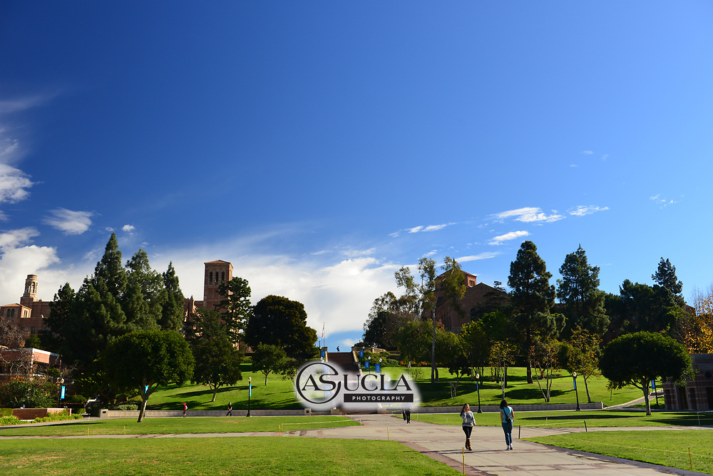 ASUCLA Photography Archive -  Exterior image of UCLA Jaanss Steps, UCLA Campus. University of California Los Angeles, Westwood, California.<br /> <br /> Copyright: ASUCLA