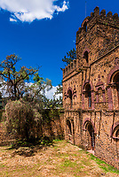 Emperor Fasilides Castle, Royal Enclosure (Fasil Ghebbi), Gondar, Ethiopia.