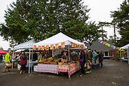 The farmers' market in Manzanita, Oregon