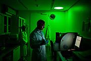 Novo, Måløv, Denmark. Inside a lab.