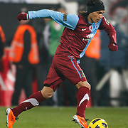 Trabzonspor's Gustavo COLMAN during their Turkey Cup Group B matchday 5 soccer match Besiktas between Trabzonspor at the Inonu stadium in Istanbul Turkey on Wednesday 26 January 2011. Photo by TURKPIX
