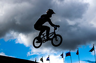 Cycling BMX Qualification, illustration during the Track Cycling European Championships Glasgow 2018, at Glasgow BMX Centre, in Glasgow, Great Britain, Day 9, on August 10, 2018 - Photo luca Bettini / BettiniPhoto / ProSportsImages / DPPI<br /> - Restriction / Netherlands out, Belgium out, Spain out, Italy out -