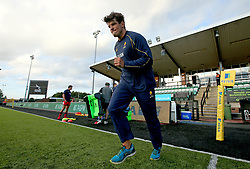 Donncha O'Callaghan of Worcester Warriors arrives at Kingston Park ahead of the Aviva Premiership Season opener against Newcastle Falcons - Mandatory by-line: Robbie Stephenson/JMP - 01/09/2017 - RUGBY - Kingston Park - Newcastle upon Tyne, England - Newcastle Falcons v Worcester Warriors - Aviva Premiership