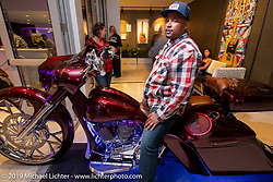 Kory Souza Originals No-Class Bike Show inside the Daytona Beach Hard Rock Hotel during Daytona Beach Bike Week, FL. USA. Saturday, March 16, 2019. Photography ©2019 Michael Lichter.