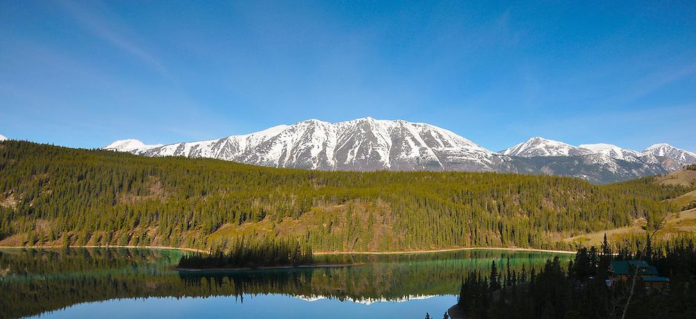 Emerald Lake, Yukon reflections