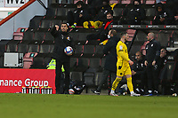Football - 2020 / 2021 Sky Bet Championship - AFC Bournemouth vs. Barnsley - The Vitality Stadium<br /> <br /> Bansley Head Coach Valerien Ismael shouts some instructions to his side during the Championship match at the Vitality Stadium (Dean Court) Bournemouth <br /> <br /> COLORSPORT/SHAUN BOGGUST