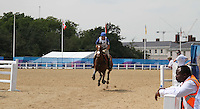 William Faudree; DHI Colour Candy London 2012 Olympics Sport Testing Program Greenwich Park Cross Country Eventing, London, UK, 05 July 2011:  Contact: Rich@Piqtured.com +44(0)7941 079620 (Picture by Richard Goldschmidt)